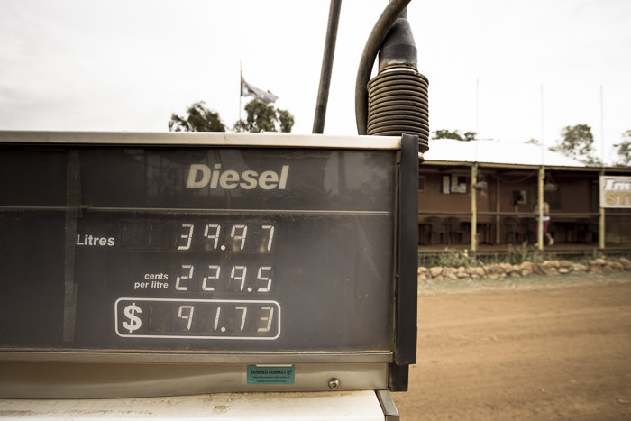 Diesel on the Gibb River Road