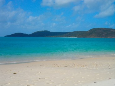 View from Whitehaven Beach