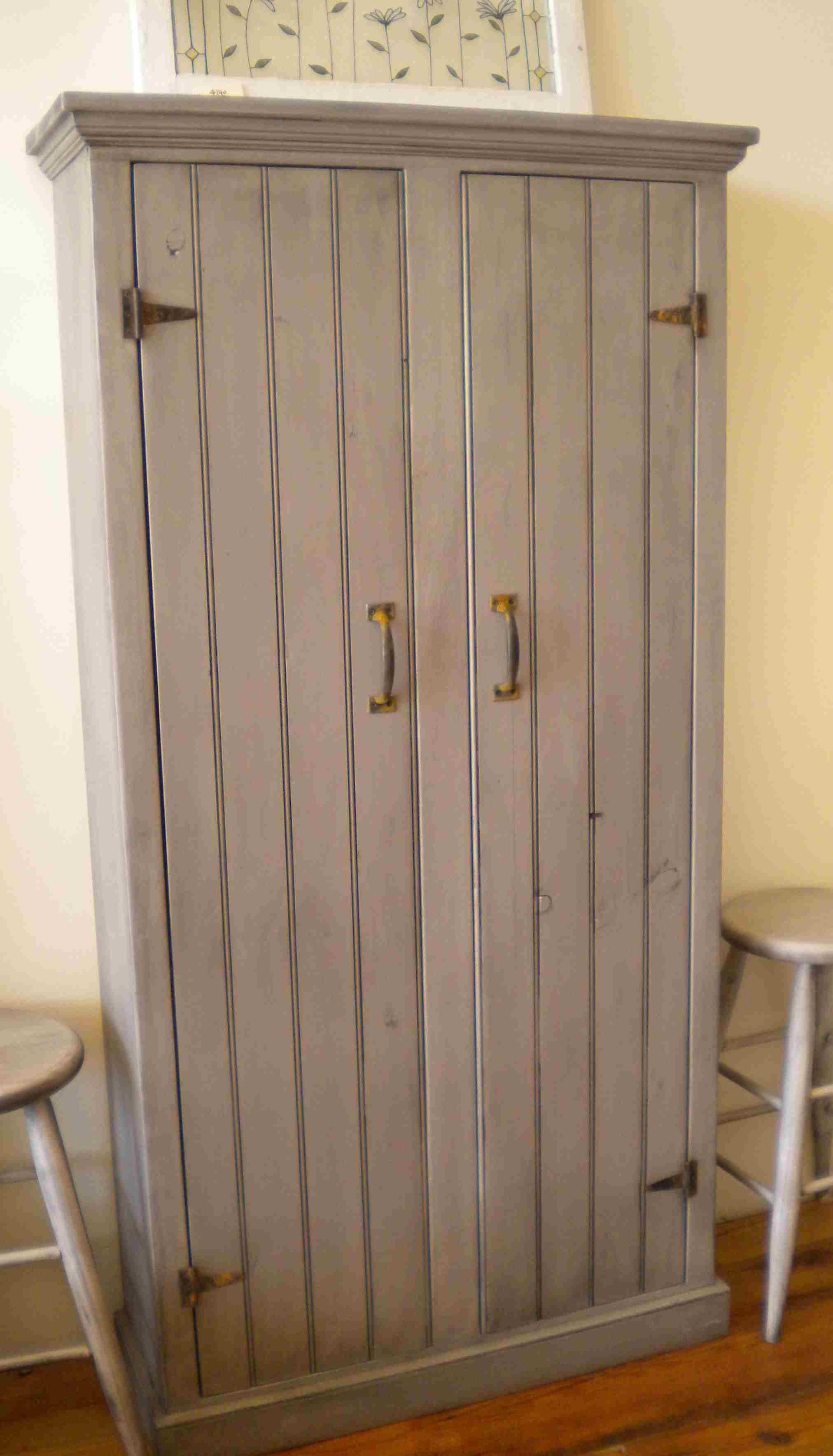 furniture kitchen pantry chrome chairs cabinet single door with mainstays