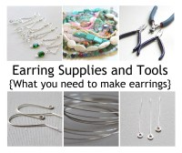 Earring Supplies and Tools (what you need to make earrings ...