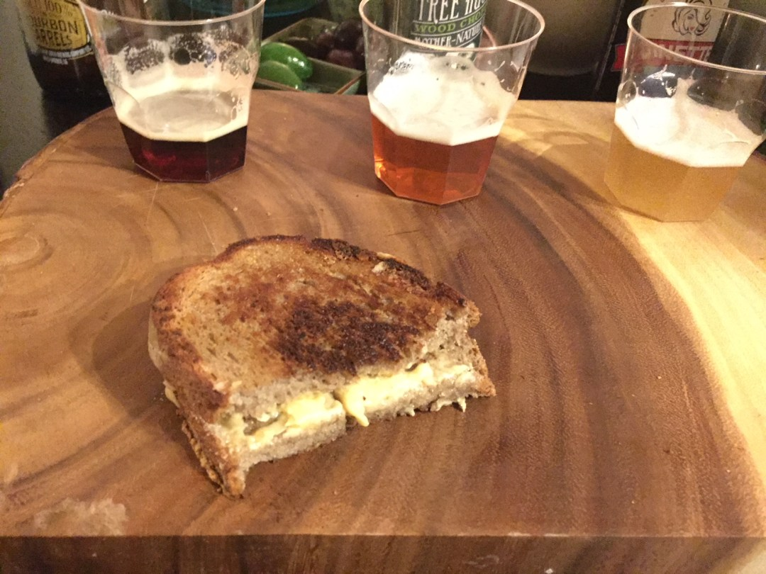 Read more about the article Grilled cheese-off: ooey, gooey, deuxey