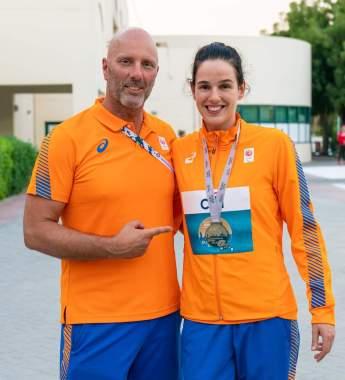 zilveren medaille wk paraatletiek dubai 2019