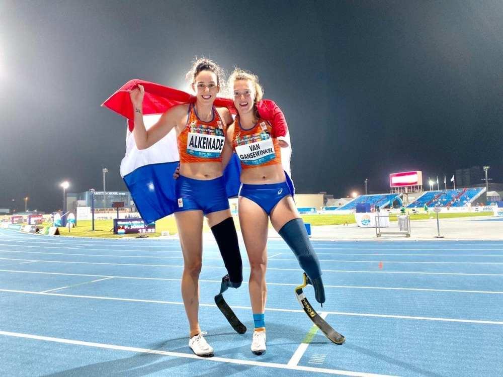 Kimmy & Marlene na 100m