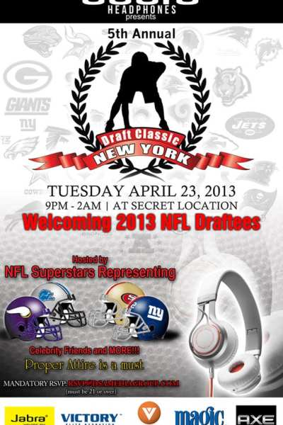 Event: NFL Draft Party
