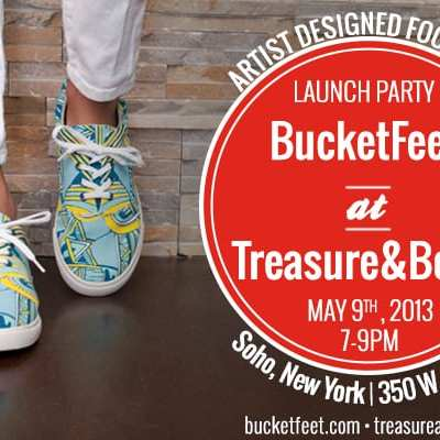 Event: BucketFeet Launch Party