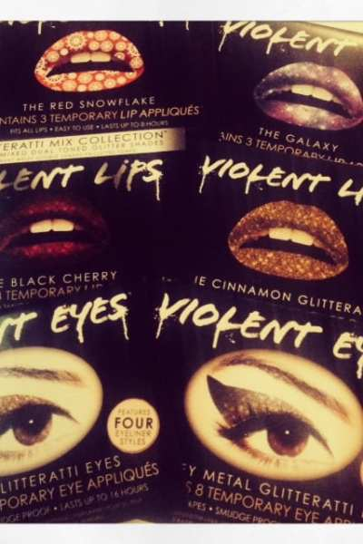 Beauty Product of the Week: Violent Eyes & Lips
