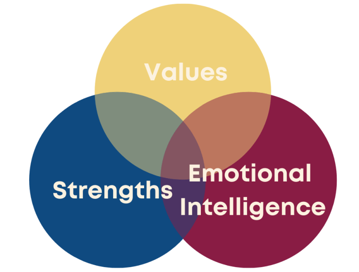 3 Good Things For a Thriving Career Values, Strengths, Emotional Intelligence