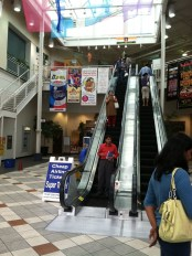 Global Mall, where you can meet people from all regions of India.