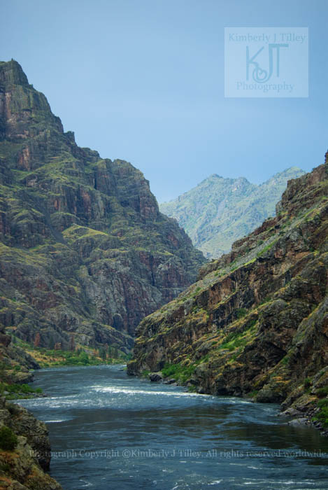 The Devil's Canyon. Idaho. Oregon.