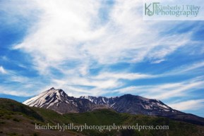 a view of mount st helen's thirty-five years after it's last major explosion