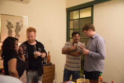 Anu, Art, Kishore, Mark