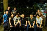 (Back) Zeus, Ben, Ling Ning (Front) Foo Kiong, Melissa, Brenda, Kelvin, Chun Lok, Pei Yi