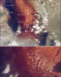 Lake Natron (NASA)
