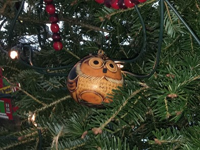 Why yes, I did do a species inventory of my Christmas ornaments