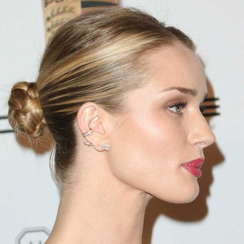 rosie huntington whiteley ear piercings