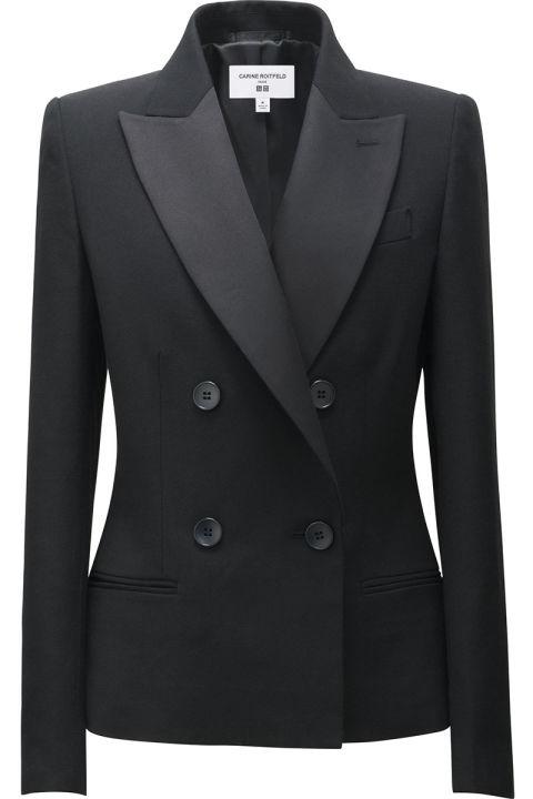 uniqlo-x-carine-roitfeld-leopard-black-blazer