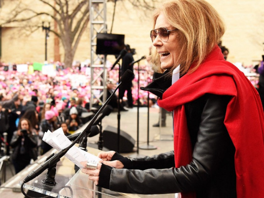 gloria steinem womens march on washington Kevin Mazur
