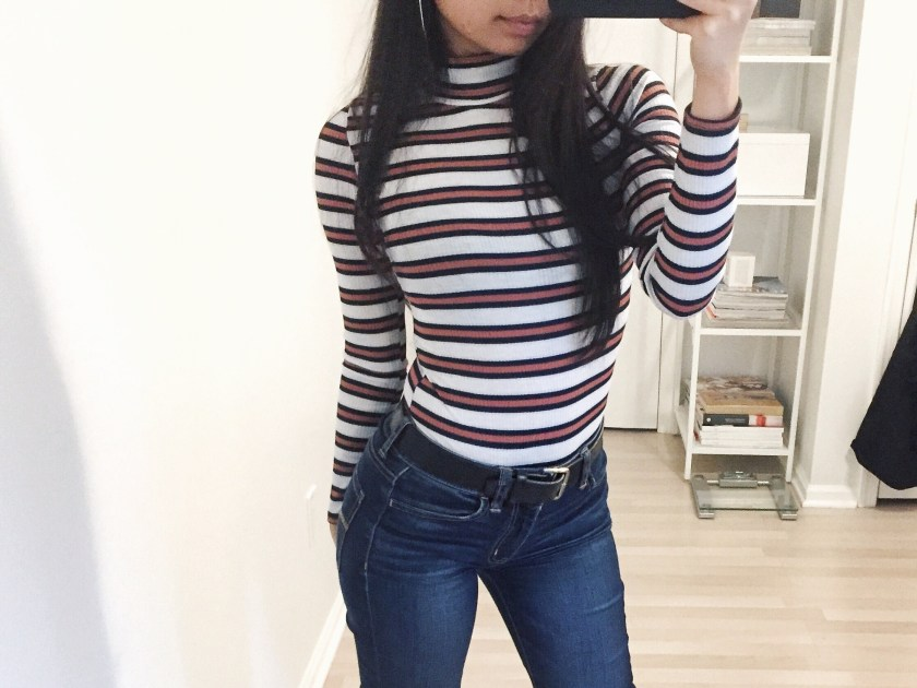 tommy hilfiger stripes ootd