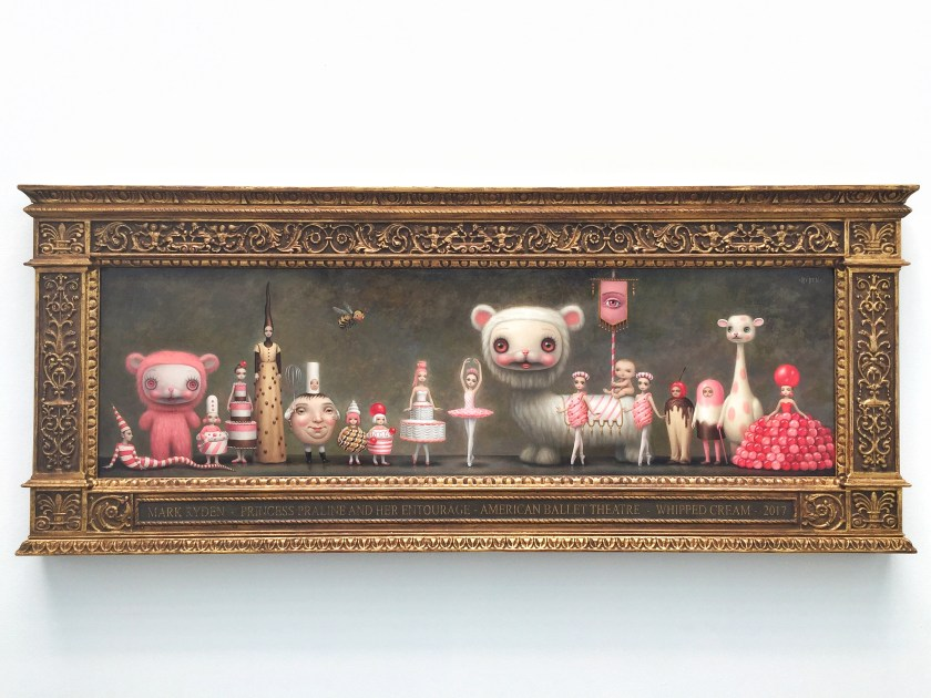 mark ryden whipped cream ballet painting princess praline procession 2