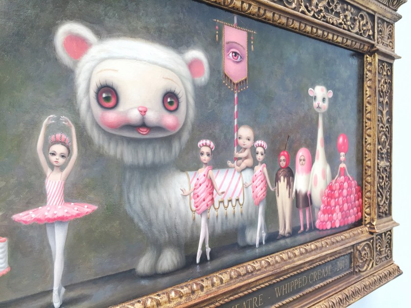 mark ryden whipped cream ballet painting princess praline procession 1