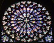 Rose Window, Notre Dame, Parisb