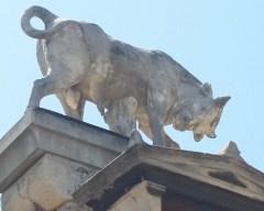 Ancient bull statue
