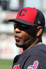 Cleveland Indians first baseman Edwin Encarnación