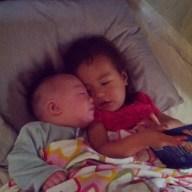 Pre-nap Cuddles