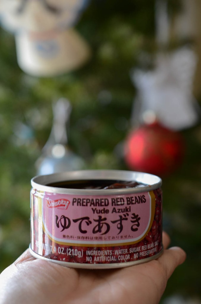 Sweet red beans (단팥 Danpat) in can