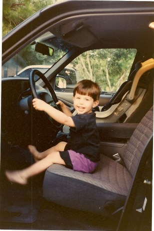 Jimmy in the Ford Explorer 1993