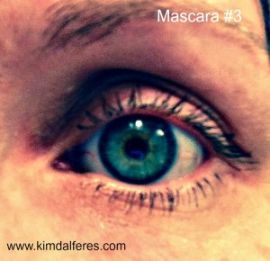 mascara #3 with text