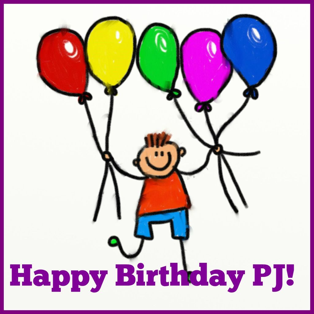 happy birthday PJ