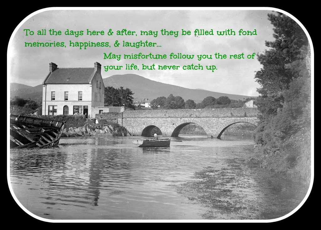 Brandyhall bridge ireland with text