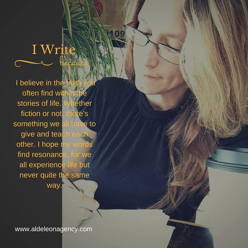 TAA - I write because april