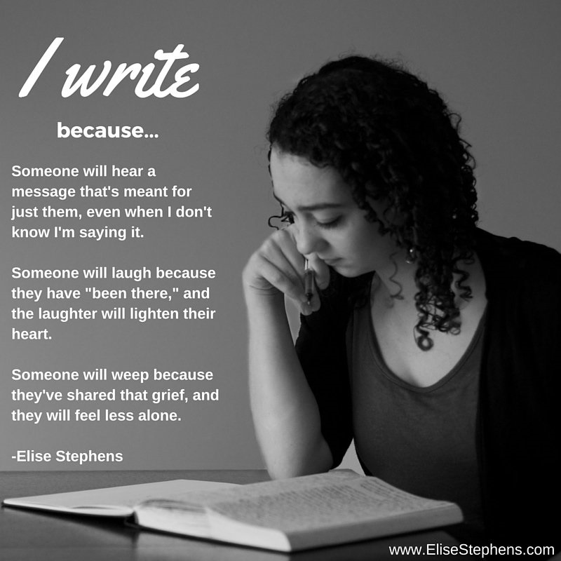 TAA - I write because elise