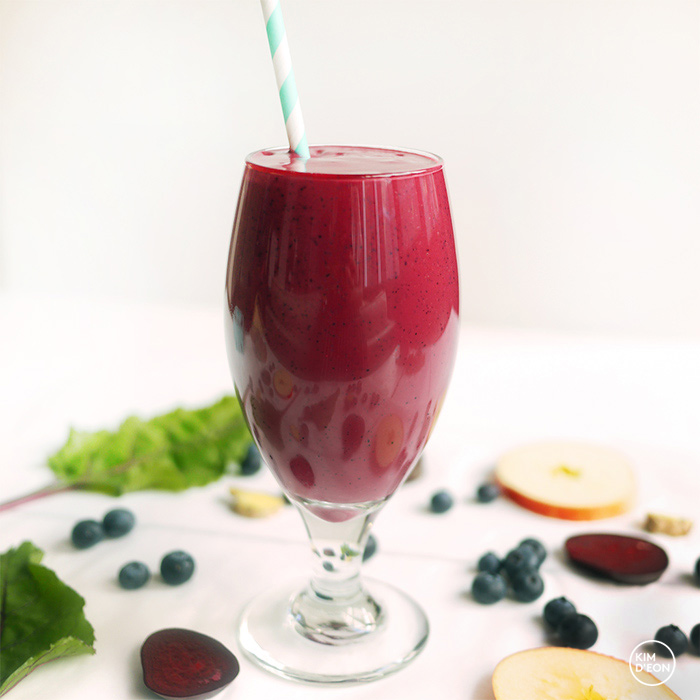 Beet Smoothie: Berry Beety | Kim D'Eon Holistic Nutrionist