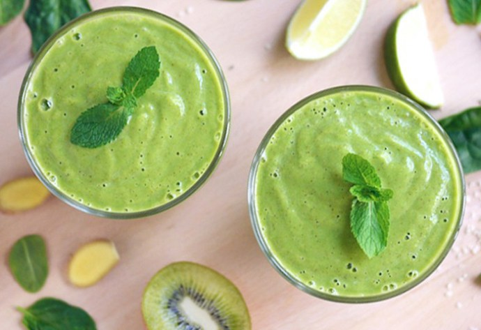 Green Smoothie - Avocado Lime Zinger | Kim D'Eon