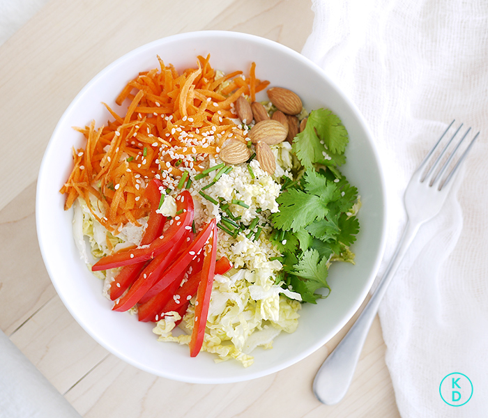 kim-deon-in-Asian-Cabbage-Salad-7
