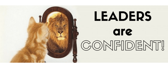 Confidenr Leader Lion