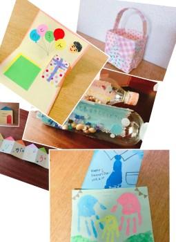 父の日プレゼントは手作で!子供でも簡単な工作&メッセージカード作り♪