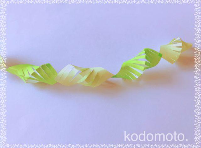 七夕飾りを折り紙で♪簡単で可愛い貝つなぎの作り方☆