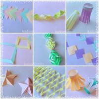 七夕飾りは折り紙で簡単に!おしゃれで可愛い作り方!
