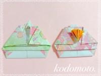 折り紙でお雛様の折り方!平面タイプで簡単なのはこれ!
