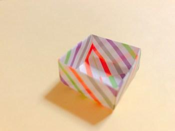 節分の豆入れの折り方!折り紙で簡単に作れるよ♪