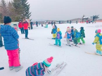 滝野すずらん公園のスキースクールを体験してきました!!おすすめ!