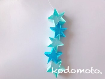 星綴りを作ろう!七夕飾りにおすすめ!作り方は簡単だよ!