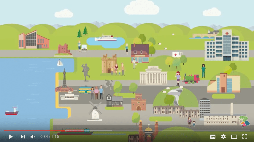 NHS healthier Lancashire an Cumbria