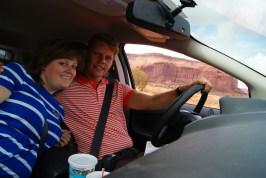 Samen in de SUV