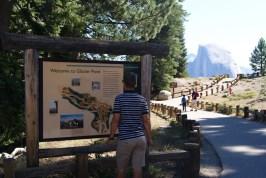 Bij Glacier Point