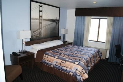 De hotelkamer helemaal in stijl